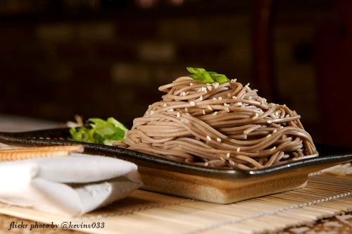 soba noodles photo by @kevinv033