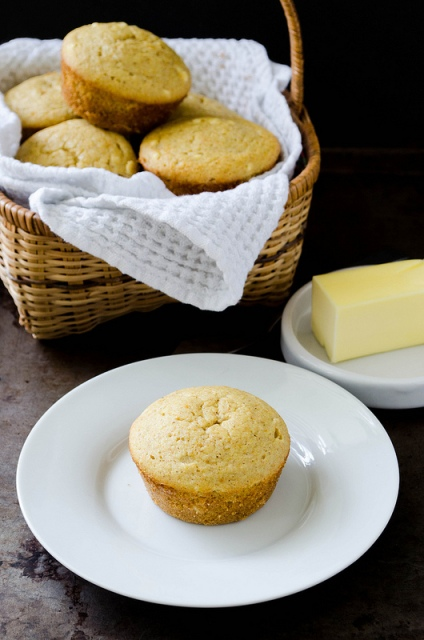 Buckwheat Corn Muffins from cookingalamel.com