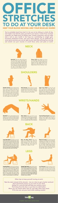 office stretches to do at work