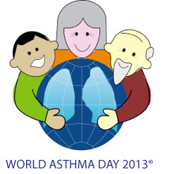 world asthma day 2013 logo