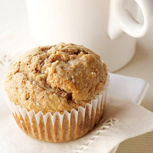 Spicy Apple Kasha Muffins