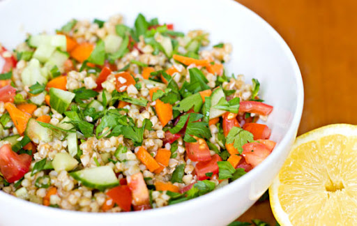 Buckwheat Tabbouleh 2 from a-bicycle-built-for-two.blogspot.sg