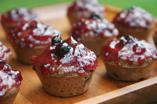 Buckwheat Flax Seed Muffins