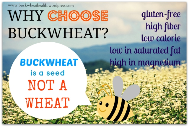 Why choose buckwheat