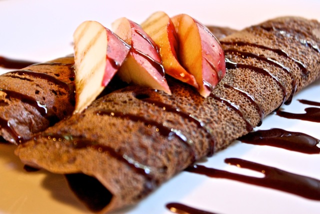 Chocolate Buckwheat Crepes from helynshealthykitchen.blogspot.sg