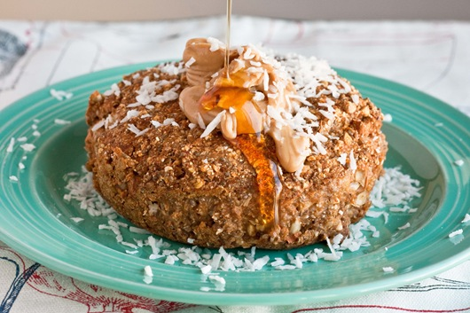 Pumpkin Muffin Buckwheat Bake from edibleperspective.com