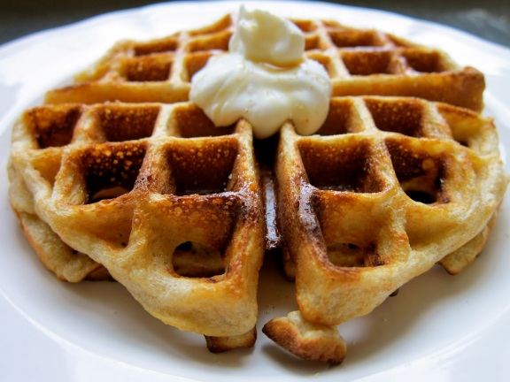 Buttermilk Buckwheat Waffles 2 from nude-food.blogspot.sg