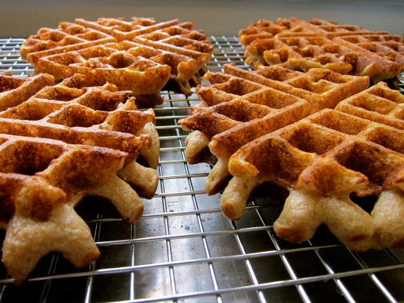Buttermilk Buckwheat Waffles from nude-food.blogspot.sg