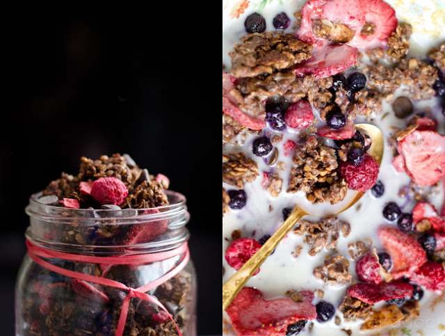 Chocolate Love Granola by Mary Banducci 1 from sweetroots.blogspot.sg