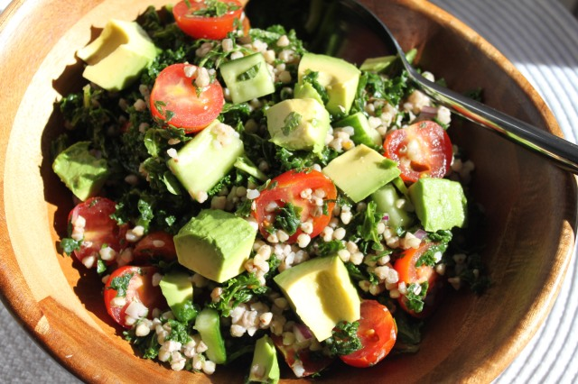 Buckwheat Kale Salad