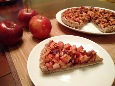 HEALTHY APPLE PIE WITH OATMEAL CRUST 2
