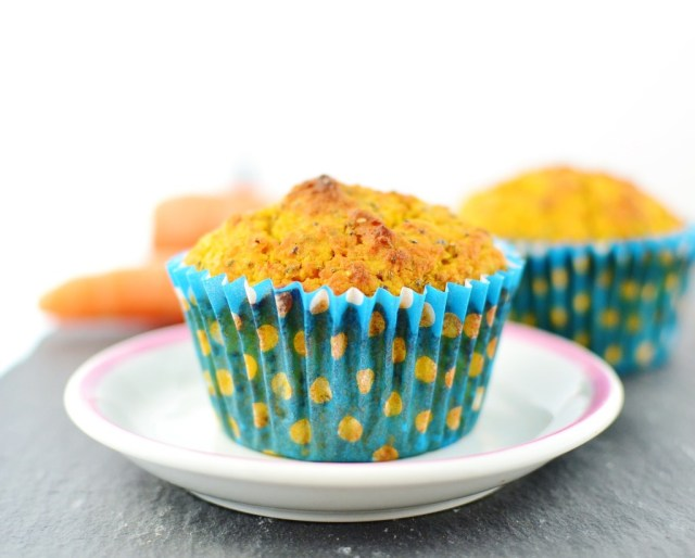 BUCKWHEAT, CARROT AND CHIA MUFFINS